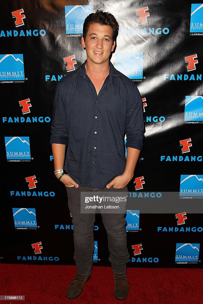 <a gi-track='captionPersonalityLinkClicked' href=/galleries/search?phrase=Miles+Teller&family=editorial&specificpeople=6471673 ng-click='$event.stopPropagation()'>Miles Teller</a> attends the Summit Entertainment's Comic-Con Red Carpet Press Event - Comic-Con International 2013 at Hard Rock Hotel San Diego on July 18, 2013 in San Diego, California.