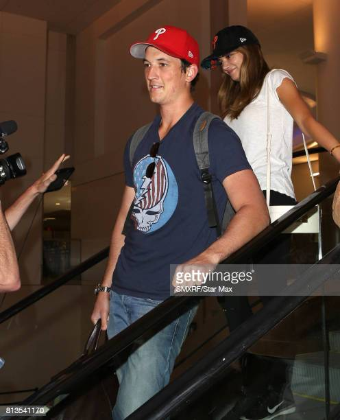 Miles Teller is seen on July 12 2017 in Los Angeles California