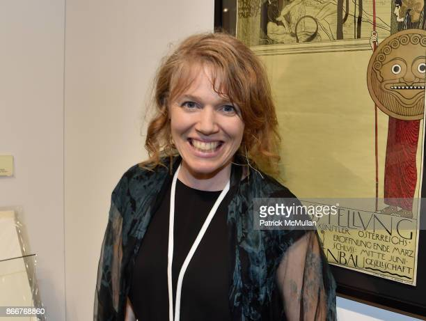 Milessa Cannevans Alonso attends the IFPDA Fine Art Print Fair Opening Preview at The Jacob K Javits Convention Center on October 25 2017 in New York...