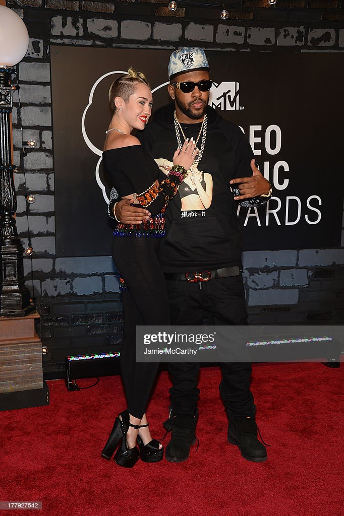 Miley Cyrus and Mike WiLL Made attend the 2013 MTV Video Music Awards at the Barclays Center on August 25, 2013 in the Brooklyn borough of New York City.