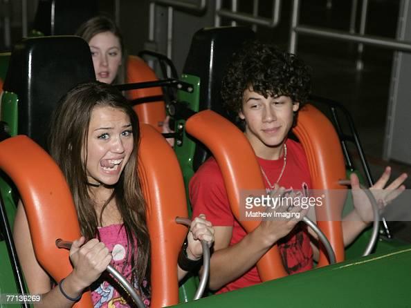 Miley Cyrus and Nick Jonas *EXCLUSIVE*