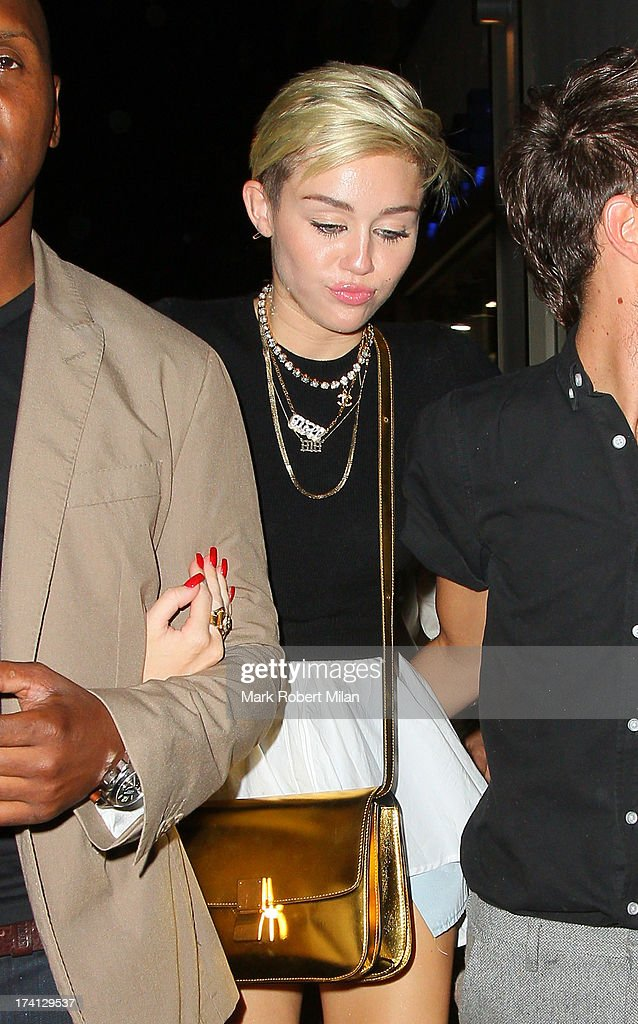 <a gi-track='captionPersonalityLinkClicked' href=/galleries/search?phrase=Miley+Cyrus&family=editorial&specificpeople=3973523 ng-click='$event.stopPropagation()'>Miley Cyrus</a> at Cirque le Soir on July 20, 2013 in London, England.
