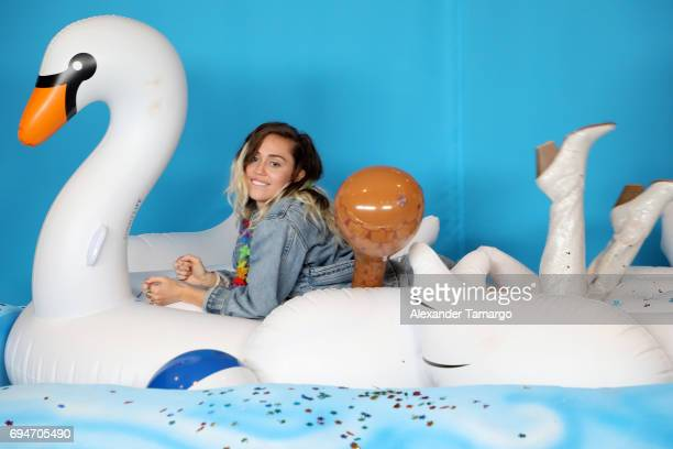 Miley Cyrus attends iHeartSummer '17 Weekend by ATT at Fontainebleau Miami Beach on June 10 2017 in Miami Beach Florida