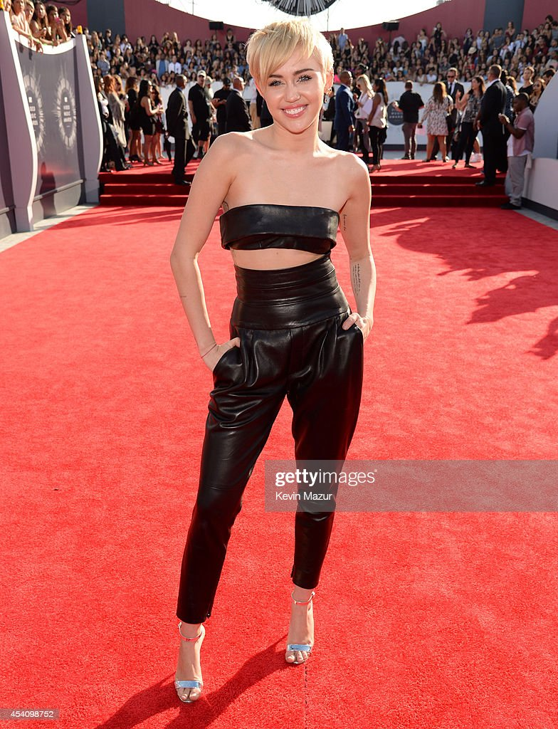 Miley Cyrus attends the 2014 MTV Video Music Awards at The Forum on August 24 2014 in Inglewood California