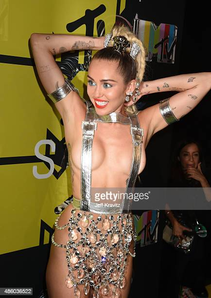 Miley Cyrus attends the 2015 MTV Video Music Awards at Microsoft Theater on August 30 2015 in Los Angeles California