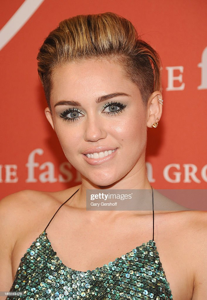 <a gi-track='captionPersonalityLinkClicked' href=/galleries/search?phrase=Miley+Cyrus&family=editorial&specificpeople=3973523 ng-click='$event.stopPropagation()'>Miley Cyrus</a> attends the 30th Annual Night Of Stars presented by The Fashion Group International at Cipriani Wall Street on October 22, 2013 in New York City.
