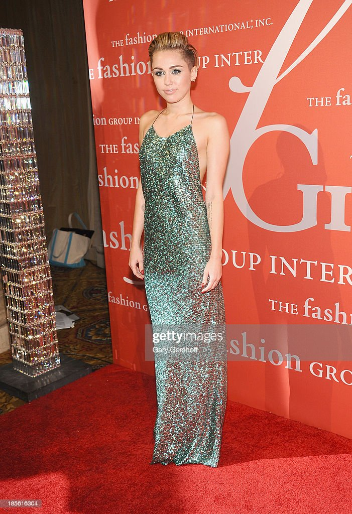 Miley Cyrus attends the 30th Annual Night Of Stars presented by The Fashion Group International at Cipriani Wall Street on October 22, 2013 in New York City.