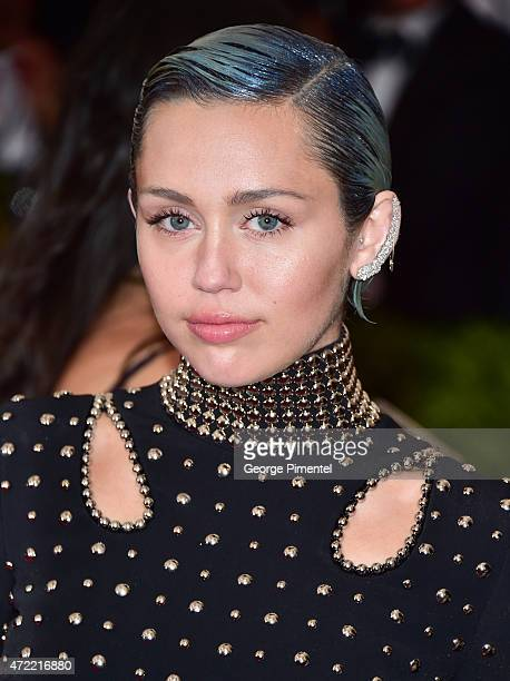 Miley Cyrus attends the 'China Through The Looking Glass' Costume Institute Benefit Gala at Metropolitan Museum of Art on May 4 2015 in New York City