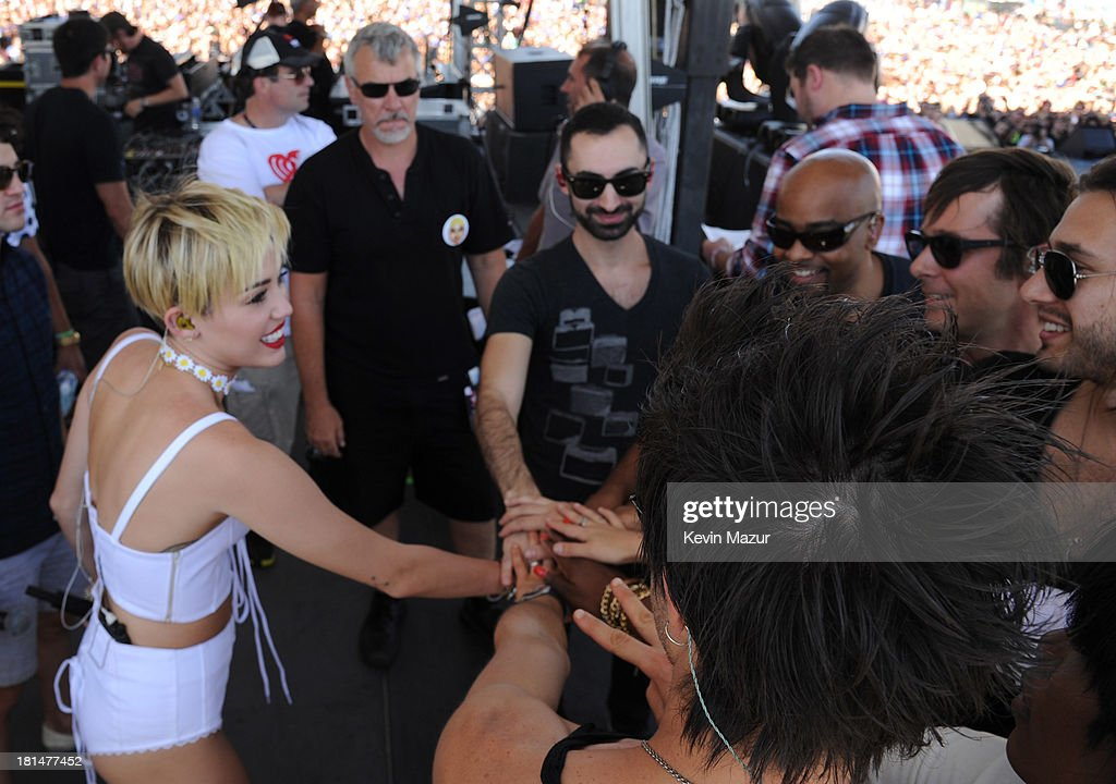<a gi-track='captionPersonalityLinkClicked' href=/galleries/search?phrase=Miley+Cyrus&family=editorial&specificpeople=3973523 ng-click='$event.stopPropagation()'>Miley Cyrus</a> attends the iHeartRadio Music Festival Village on September 21, 2013 in Las Vegas, Nevada.