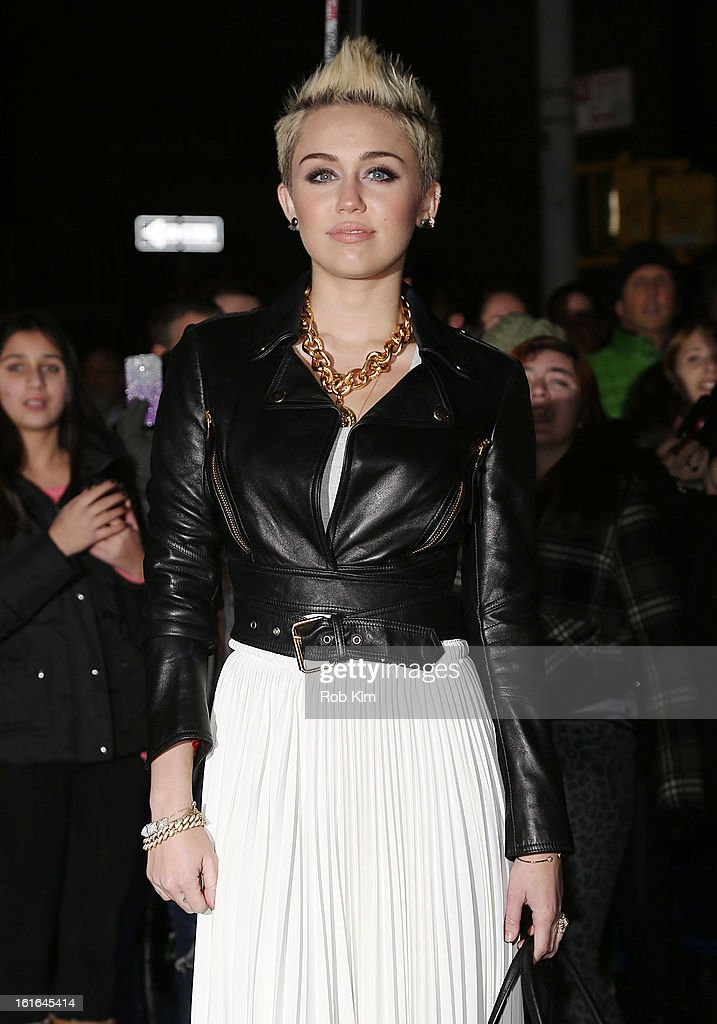 Miley Cyrus attends the Miley Cyrus March 'Cosmo' Cover Issue Celebration at Acme on February 13, 2013 in New York City.