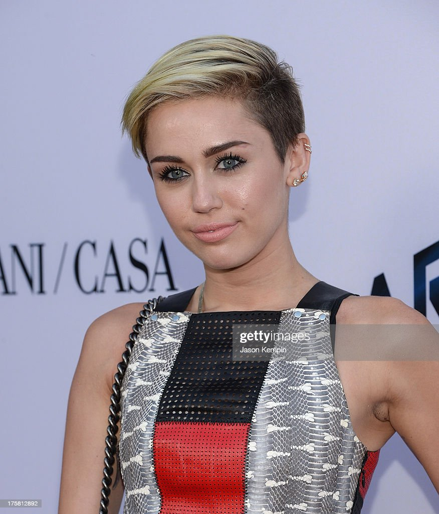 Miley Cyrus attends the premiere of Relativity Media's 'Paranoia' at DGA Theater on August 8, 2013 in Los Angeles, California.
