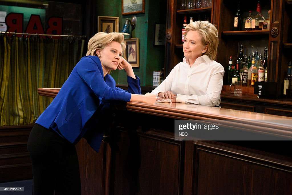 Image result for kate mckinnon as hillary clinton