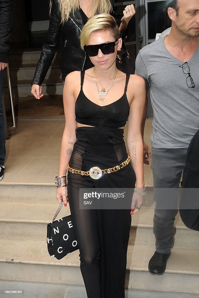 <a gi-track='captionPersonalityLinkClicked' href=/galleries/search?phrase=Miley+Cyrus&family=editorial&specificpeople=3973523 ng-click='$event.stopPropagation()'>Miley Cyrus</a> pictured on September 11, 2013 in London, England.
