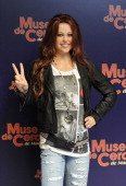 Miley Cyrus waxwork is unveiled at the Museo de Cera on November 4 2010 in Madrid Spain