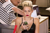 ROCK 'Miley's Sexy Night Out' Episode 104 Pictured Guest judge Miley Cyrus