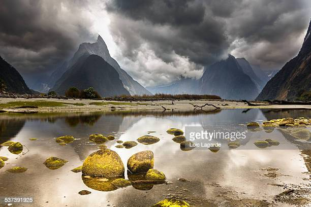 Milford Sound in Fjordland National Park