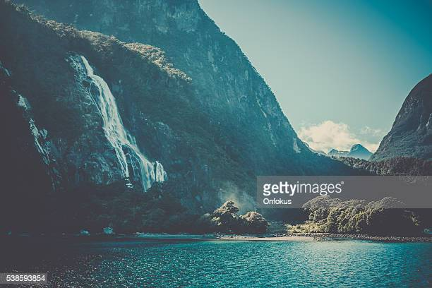 Milford Sound Landscape, South Island, New Zealand