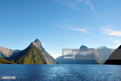 milford sound, New Zealand : Stock Photo