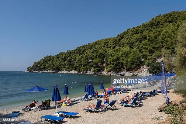 Milia beach, Skopelos island, Sporades Greece