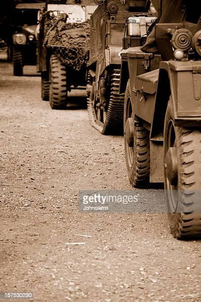 Military Convoy.