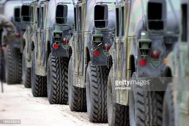Militaire Convoi