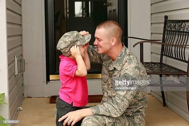 Militar Padre e hijo