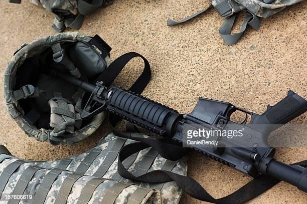 U.S. Military Gear Background