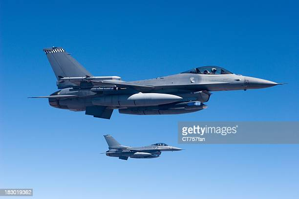 Military Jets in Flight