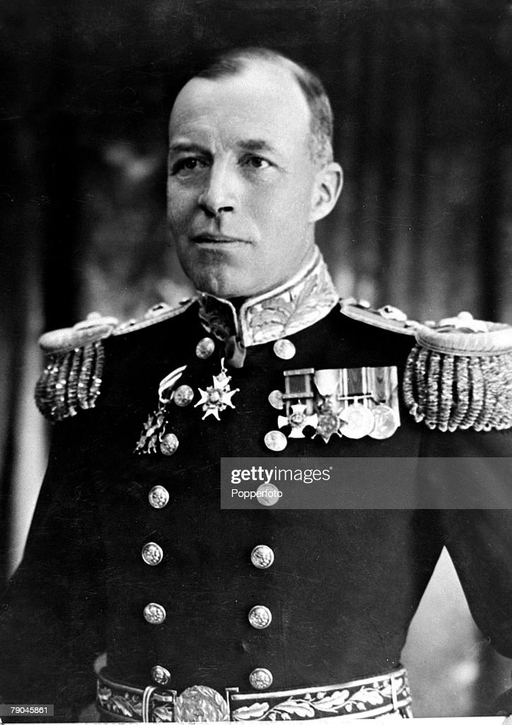 Military Naval pic circa 1940 Admiral of the Fleet Sir Charles Forbes