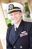 U.S. Military Officer Smiling