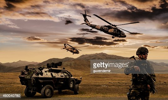 Military Operation : Stock Photo