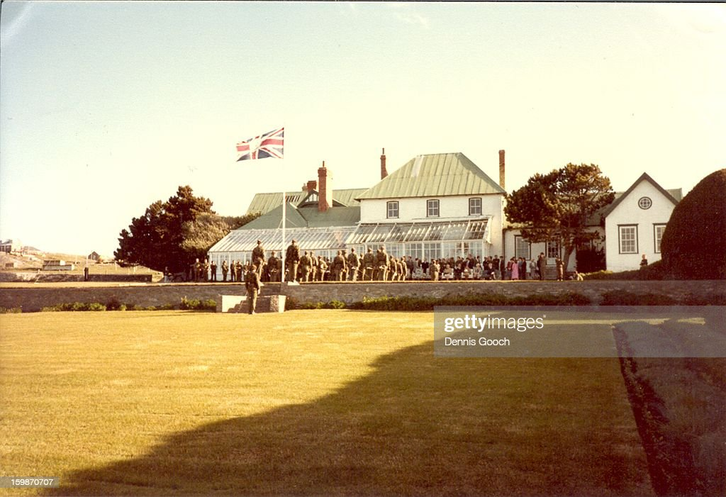 CONTENT] Military Parade at Government House late 1983