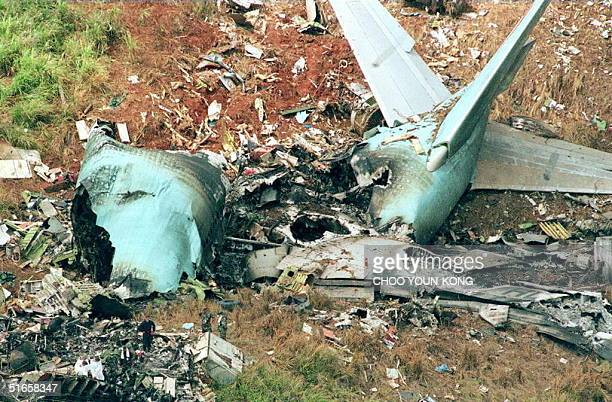 korean air 801 Ee 585: fault tolearnt computing 2 on august 6, 1997 1:42 am korean airlines flight 801 crashed into terrain on approach to won pat int'l.