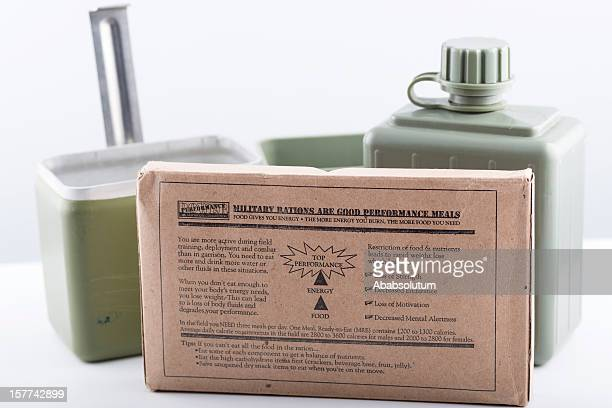 Military Rations for Soldiers During Combat or Field Training