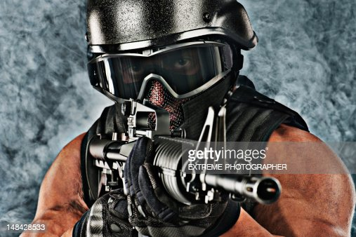 Military Soldier : Stock Photo