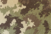 Military vegetato camouflage rip-stop fabric texture background