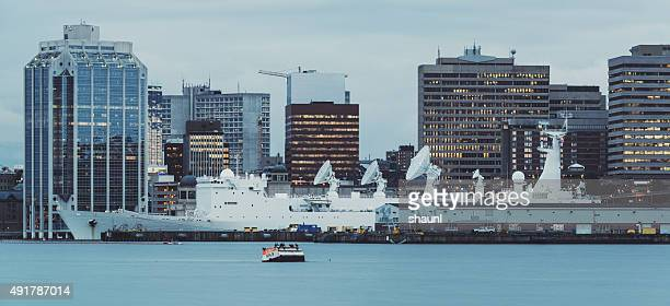 Military Vessel in Halifax Harbour
