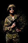 Military Woman Warrior