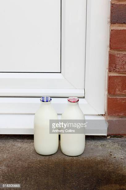 Milk delivered to a UK home