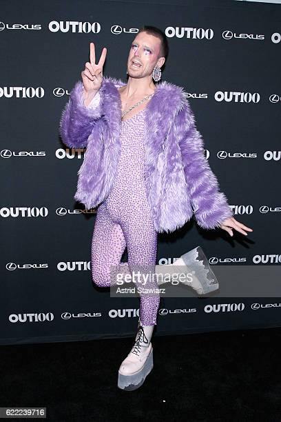 Milk from RuPaul's Drag Race attends the 2016 OUT100 Gala at Metropolitan West on November 10 2016 in New York City
