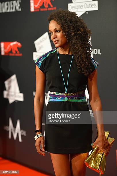 Milka Loff Fernandes attends the Leonardo At New Faces Award Fashion After Show Party 2014 on July 25 2014 in Duesseldorf Germany