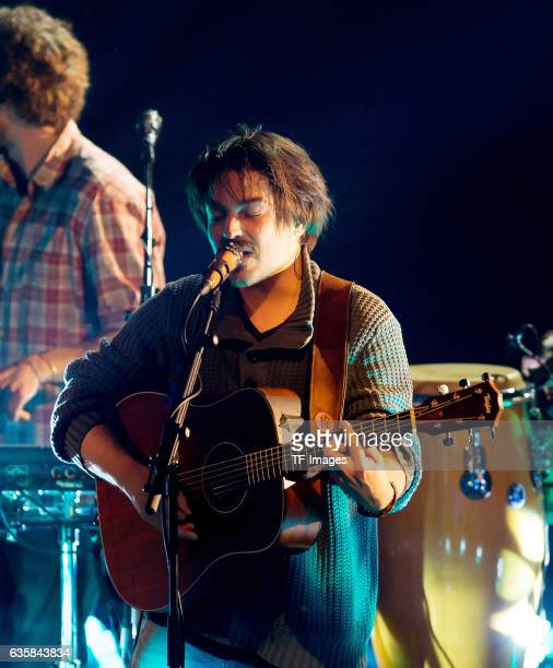 Milky Chance prform at during the 1Live Krone at Jahrhunderthalle on December 1 2016 in Bochum Germany