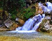 Long exposure shots of Kempty Falls