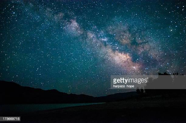 Milky Way above Piute Reservoir