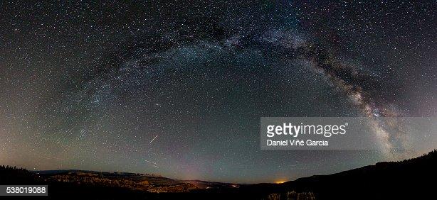Milky Way Arch : Stock Photo