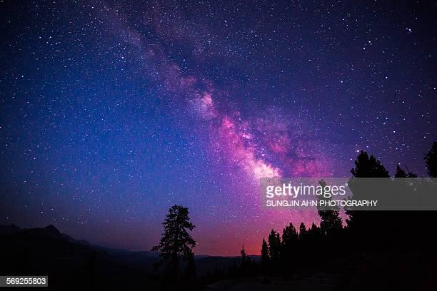 Milky way at Yosemite