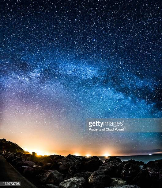 Milky Way Galaxy Arching Across The Sky
