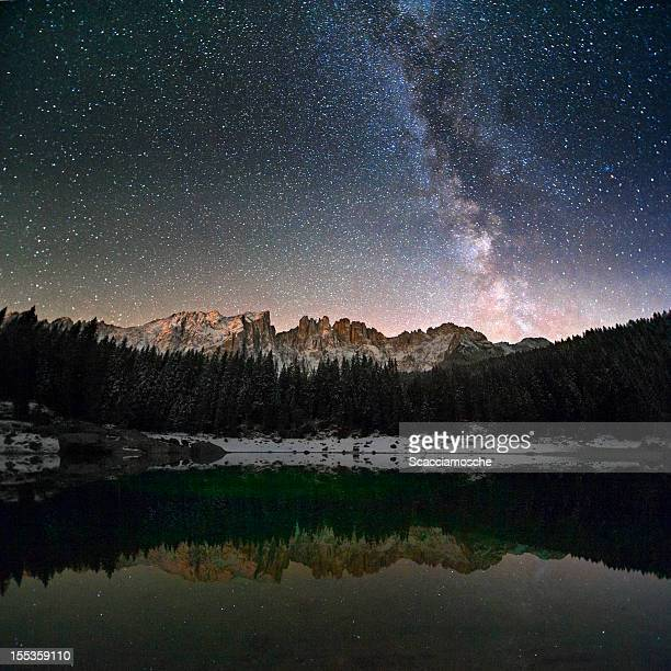 Milky Way in the Alps