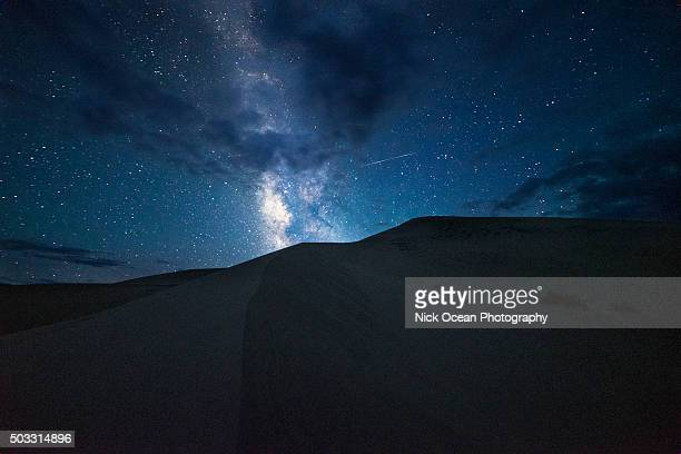 Milky Way Over Eureka Dunes, Death Valley National Park