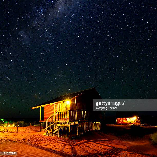 Milchstraße über der Kalahari